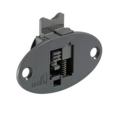 Верхний направляющий элемент с фиксатором SlideLine 55 Plus, пластмасса, серый, Hettich