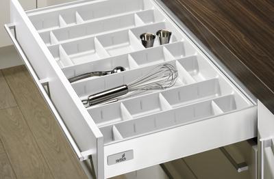 Лоток для столовых приборов OrgaTray 560 Professional для InnoTech, модуль 500, 462х415мм, белый, Hettich