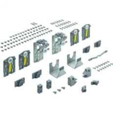 Ком-кт фурн. TopLine M/STB 16.1 для 3-х дверного шкафа ( дверь 15-19мм, max 35 кг) с огр-м хода, Hettich