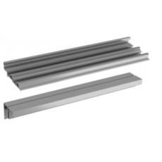 Ком-кт. профилей TopLine XL тип 2 перфорированный 4000 мм, алюминий, Hettich