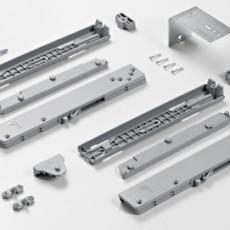 Ком-кт. демпферов TopLine XL на открывание для двухдверного шкафа, Hettich
