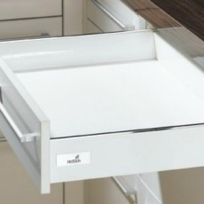 InnoTech, ящик 070х470 мм, белый, частич. выдв-е, плавн. закр. (нагр. 25 кг), Hettich