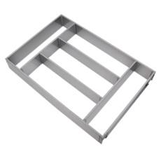 Лоток для столовых приборов OrgaTray 610 для InnoTech Atira, 470х450х1200 мм, серый, Hettich