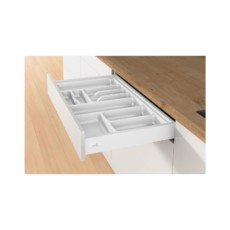 Лоток для столовых приборов OrgaTray 560 Professional для InnoTech, модуль 450, 462х365мм, серый, Hettich